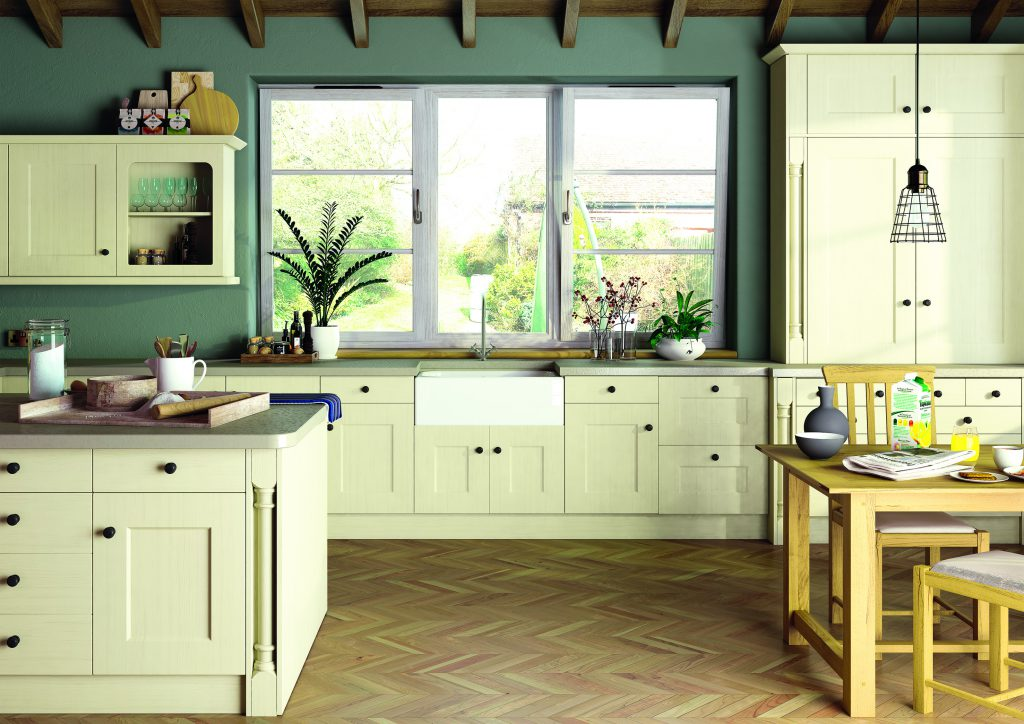 he Shaker style is a simple yet classic kitchen design which originated from the 18th-century Quakers, known as the 'Shakers.'
